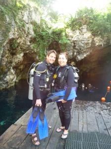 Gran Cenote platform