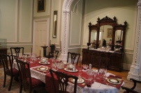 Castle dining room