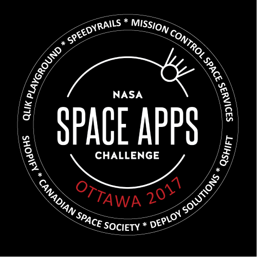 Space Apps Ottawa 2017 Logo