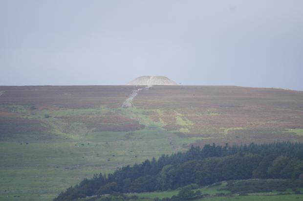 Knocknarea Hill Mound